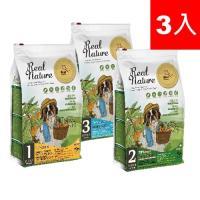 Real Nature 瑞威 天然平衡犬糧  綜合3入 草原羊肉/森林燉雞/海洋魚貝 (4kg*3包)