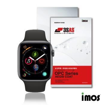 imos Apple Watch 44mm 第四代《非滿版》超抗撥水疏水疏油效果保護貼-兩入