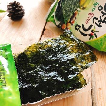 洪城郡岩燒海苔10袋(16入/袋),兩種口味任選(竹鹽/泡菜)