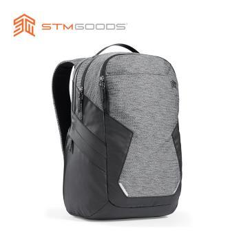 澳洲【STM】Myth 28L Backpack 15吋 頂級防潑水筆電後背包 (灰岩黑)