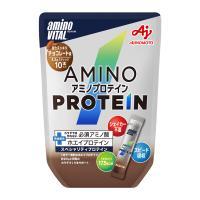 日本味之素 aminoVITAL® 專業級胺基酸乳清蛋白 [巧克力風味]10小包入