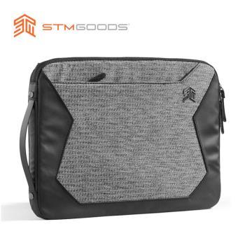 澳洲【STM】Myth Sleeve 15吋 可側背三用筆電保護內袋 / 防震包 (灰岩黑)