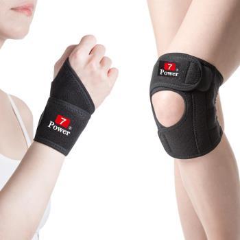 7Power醫療級專業護腕*2+護膝*2特惠組