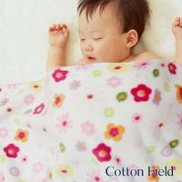 棉花田 Baby兔 兒童刺繡印花舒柔隨意毯(76x102cm)