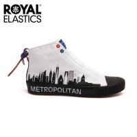 Royal Elastics 男-Harajuku 帆布休閒鞋-日系都市白(04783-009)