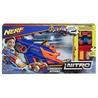 NERF Nitro 極限射速賽車豪華發射組(車車遊戲組)