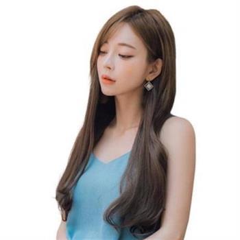 【米蘭精品】假髮髮片-無痕一片式接髮長直髮女假髮4色73uh44
