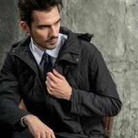 Valentino Rudy 范倫鐵諾.路迪 防潑水保暖外套(可拆帽)深紫藍