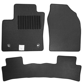 CARBUFF 汽車腳踏墊 LIVINA (2007~2014-02) 七人座 適用 - 蜂巢式防水車墊
