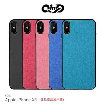 QinD Apple iPhone XR 布藝保護套