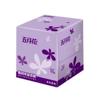 五月花 方盒直立式面紙108抽x60盒