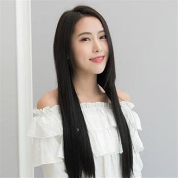 【米蘭精品】假髮真髮絲-直髮一片式接髮2夾50cm女假髮3色73uh26