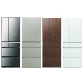 國際牌 一級能效 600L 變頻6門電冰箱-共四色 NR-F604HX-X1/NR-F604HX-N1/NR-F604HX-T1/NR-F604HX-W1