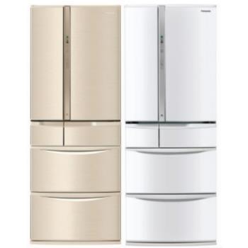Panasonic國際牌 430L日製五門 變頻電冰箱 NR-E430VT-N1/NR-F504VT-W1