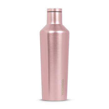 CORKCICLE 酷仕客ROSE Metallic系列三層不鏽鋼易口保溫瓶470ml(玫瑰金)