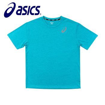 Asics 亞瑟士 男女 短袖T恤 沙克綠 K11606-8051