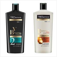 美國同步上市TRESemme彩絲美洗髮乳/潤髮乳-增加彈性亮澤(22oz)*4