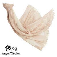 【Angel Woolen】霓裳-印度手工串珠羊毛披肩-裸裳
