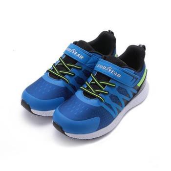 GOODYEAR 彈跳自如高彈運動跑鞋 藍 GAKR88456 大童鞋 鞋全家福
