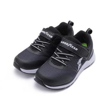 GOODYEAR 超光速輕量運動跑鞋 黑 GAKR88490 中大童鞋 鞋全家福