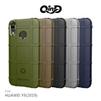 QinD HUAWEI Y9(2019) 戰術護盾保護套