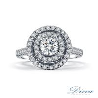 【DINA 蒂娜珠寶】 回歸 GIA 0.32克拉 D/SI1 鑽石求婚女戒(鑽石戒指)
