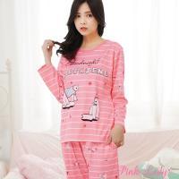 Pink Lady 晚安北極熊棉柔長袖成套睡衣 (288-6)
