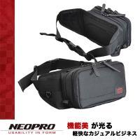 【NEOPRO】日本機能包品牌 小型B6 單肩斜背包 腰包 後背包 戶照夾 機票夾 耐磨尼龍【2-071】