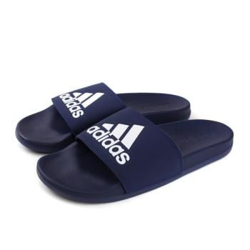 adidas ADILETTE COMFORT 拖鞋 戶外 深藍色 男鞋 B44870 no621
