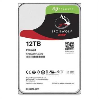Seagate那嘶狼IronWolf 12TB 3.5吋 NAS專用硬碟 (ST12000VN0007)