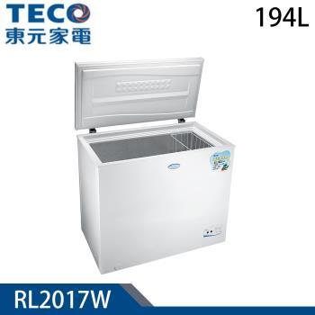TECO東元 194L上掀式單門冷凍櫃RL2017W