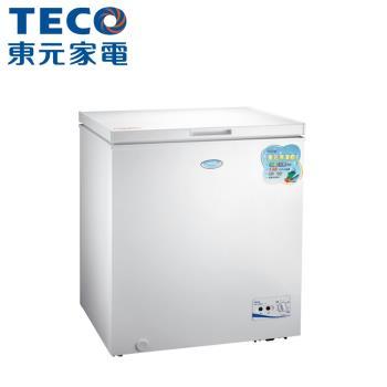 TECO東元 138公升上掀式單門冷凍櫃RL1417W