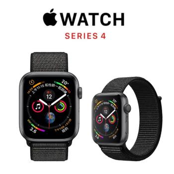 Apple Watch Series 4  LTE 44mm Nike+太空灰鋁/黑錶環MTXL2TA/A