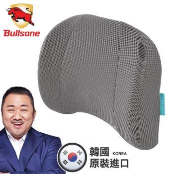 【Bullsone】蜂巢凝膠腰椎靠墊 (腰靠墊 靠背墊),贈品:時尚扣環保溫保冷袋x1