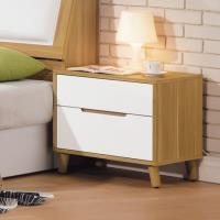 Bernice-喬托1.8尺二抽床頭櫃/收納抽屜櫃