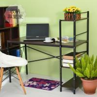 AA【收納專業家】胡桃木 雙向電腦桌 書桌 收納桌 辦公桌 工作桌 學生桌 桌子