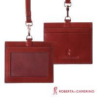 【ROBERTA 諾貝達】義大利牛皮-掛式證件套-卡夾-橫式 (VITALITY 系列)