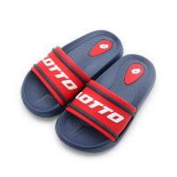 LOTTO Summer Play 輕量套式拖鞋 藍紅 LT8AKS7026 中大童鞋 鞋全家福