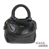 真皮包【Diana Janes 黛安娜】時尚經典帽沿包