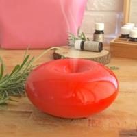 TickTock 法式甜甜圈-香氛水氧機(開運紅) 贈 隨行化妝包*1