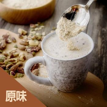 可夫萊堅果之家-堅果穀粉550g/1罐入   原味/黑芝麻/杏仁/紅棗/蔓越莓/可可/蜜香紅茶/包種茶
