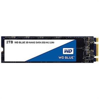 WD SSD 2TB M.2 2280 SATA 3D NAND固態硬碟(藍標) (WDS200T2B0B)