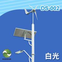 DIGISINE★DS-002 風光互補智能路燈 - 24V系統/5000流明/黃光/白光 [太陽能發電][風力發電機][獨立電網][戶外照明路燈]