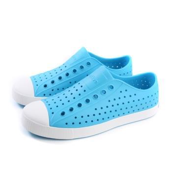 native JEFFERSON 休閒鞋 洞洞鞋 淺藍色 男女鞋 11100100-4089 no835