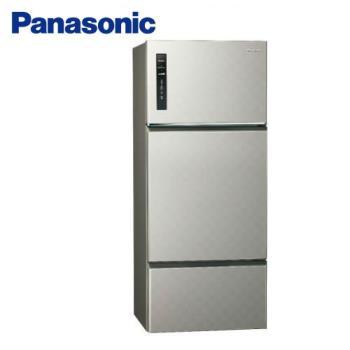 Panasonic國際牌481公升三門變頻冰箱(銀河灰)NR-C489TV-S (庫)