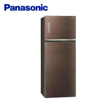 Panasonic國際牌485公升一級能效雙門冰箱(翡翠棕)NR-B489TG-T(庫)
