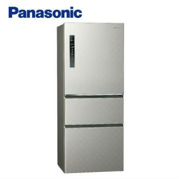 【滿額登記送聚火鍋餐券】Panasonic國際牌 一級能效 500公升變頻三門電冰箱(銀河灰)NR-C500HV-S (庫)