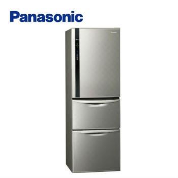 【回饋10%東森幣+滿額送西堤】Panasonic國際牌 一級能效 385L三門變頻電冰箱(銀河灰)NR-C389HV-S (庫)