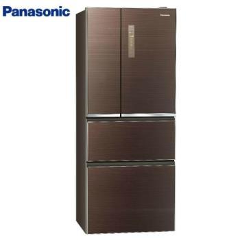 買就送千元商品卡+雙面砧板+6吋陶瓷刀★Panasonic國際牌 一級能效 610L四門變頻冰箱NR-D610NHGS-T (庫)