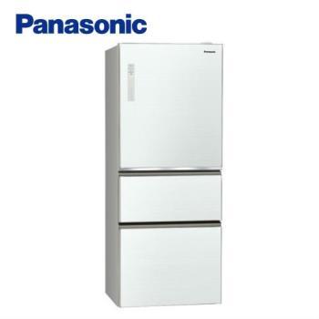 買就送千元商品卡+雙面砧板+6吋陶瓷刀★Panasonic國際牌500公升一級能效三門冰箱(翡翠白)NR-C500NHGS-W (庫)